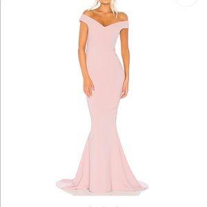 Beautiful dusty pink long gown.